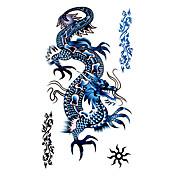 타투 스티커 Totem Series 패턴 Waterproof 남성 Boy Teen 플래시 문신 임시 문신