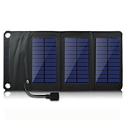 USB 5V 출력의 휴대용& iphone6 / 6plus / / 5 S4 삼성 5S HTC 및 기타 모바일 장치를위한 태양 전지 패널 충전기를 접는