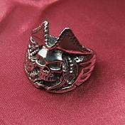 멋진 디자인 패션 빈티지 티타늄 스틸 남성의 문 반지 (1 개)