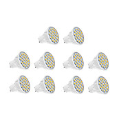 5w gu10 led 스포트 라이트 18 smd 5630 400 lm 따뜻한 흰색 / 멋진 흰색 ac 220-240 v 10 pc
