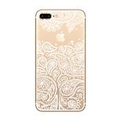 제품 iPhone X iPhone 8 iPhone 8 Plus iPhone 7 iPhone 6 아이폰5케이스 케이스 커버 울트라 씬 투명 패턴 뒷면 커버 케이스 애플로고 관련 소프트 TPU 용 Apple iPhone X iPhone 8 Plus