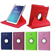 Para Funda Samsung Galaxy con Soporte / Flip / Rotación 360º Funda Cuerpo Entero Funda Un Color Cuero Sintético SamsungTab 4 10.1 / Tab 4