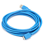 USB 3.0 케이블, USB 3.0 to USB 3.0 마이크로 -B 케이블 Male - Male 1.5M (5 피트)