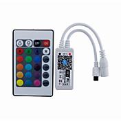 미니 IR 24 키 와이파이 주도 컨트롤러 스마트 폰 애플 리케이션 제어와 IOS 안드로이드 (rgb / rgbw / rgbwc)