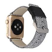 Para la serie del reloj de la manzana 38 / 42m m 2 series 1 venda del reemplazo hebilla del corchete del acero inoxidable de la hebilla