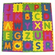 직소 퍼즐 로직&퍼즐 장난감 빌딩 블록 DIY 장난감 광장 문자 EVA 폼 고무
