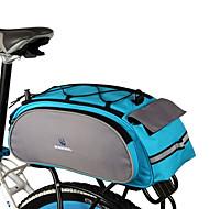 Rosewheel 자전거 가방 13L자전거 트렁크 백/자전거 짐바구니 자전거 트렁크 백 반사 스트립 방수 내장 주전자 가방 다기능 싸이클 가방 싸이클 백 사이클링/자전거