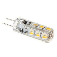 1.5w g4 led 옥수수 조명 t 24 110-130 lm 따뜻한 흰색 dc 12 v