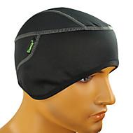Kask Astarı Şapka Kask Liner / Kask Cap Caps Yüz Maskesi Bisiklet Nefes Alabilir Sıcak Tutma Rüzgar Geçirmez Unisex Siyah %100 Polyester