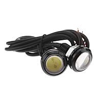 Carro Branco Frio 3W COB 6000 Luz Instrumento Luz de Matricula Luz de Sinal de Direcção Angel Eyes LED
