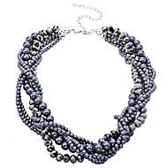 Žene Choker oglice Igazgyöngy nyaklánc Kristal Biseri Legura kostim nakit Jewelry Za Party Dnevno