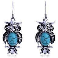 Žene Viseće naušnice kostim nakit Legura Animal Shape Sova Jewelry Za Dnevno