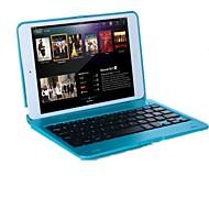Για Θήκες Καλύμματα με βάση στήριξης με πληκτρολόγιο Ανοιγόμενη Πλήρης κάλυψη tok Συμπαγές Χρώμα Σκληρή PC για iPad Mini 3/2/1