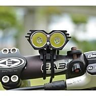 Φακοί Κεφαλιού Φώτα Ποδηλάτου 5000/2500 Lumens Τρόπος Cree XM-L U2 18650 Ανθεκτικό στα Χτυπήματα Επαναφορτιζόμενο Αδιάβροχη