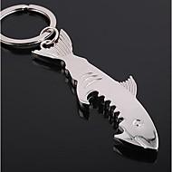 상어 모양의 병 오프너 키 체인