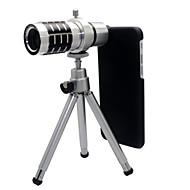 12x optische zoom telescoop camera lens met statief voor iphone 6 voor iphone 8 7 Samsung Galaxy S8 s7