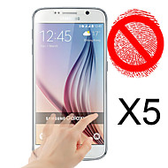 matta näytönsuoja Samsung Galaxy S6 (5 kpl)