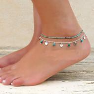 Dames Enkelring /Armbanden Turkoois Legering Uniek ontwerp Modieus Bikini Kostuum juwelen Sieraden Sieraden Voor Feest Dagelijks Causaal