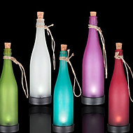 pak van 5 zonne-fles lamp geleid decoratie licht interspersion hanglamp multicolor