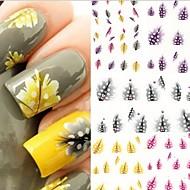 꽃/추상화/러블리 - 핑거/발가락 - 3D 네일 스티커 - 이 외 - 5 - 10.5X7X0.5