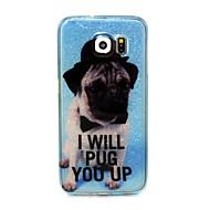 Voor Samsung Galaxy Note Patroon hoesje Achterkantje hoesje Hond TPU Samsung S6 edge / S6 / S5 / S4 Mini / S4 / S3 Mini / S3