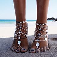 Dames Enkelring /Armbanden Legering Punk-stijl Meerlaags Vintage Bikini Kostuum juwelen Sieraden Sieraden Voor Feest Strand