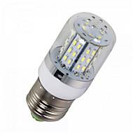 ywxlight® 1pcs E14 / E26 / E27 5W 48SMD 3014 450lm warm / koel wit AC / DC 10-14v
