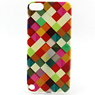 rooster painting patroon TPU zachte hoes voor ipod touch 5