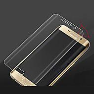 hzbyc® 0.2mm tiszta HD prémium igazi edzett üveg képernyővédő fólia Samsung Galaxy S6 szélén