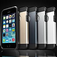 Για iPhone X iPhone 8 Θήκη iPhone 5 Θήκες Καλύμματα Ανθεκτική σε πτώσεις Πίσω Κάλυμμα tok Πανοπλία Μαλακή Σιλικόνη για iPhone X iPhone 8