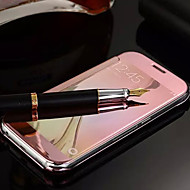 For Samsung Galaxy etui Spejl Flip Etui Heldækkende Etui Helfarve PC for Samsung S6 edge plus S6 edge S6 S5