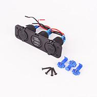 iztoss 12v marin panou soclu de țigară cu port USB și priză de curent tensiune pentru SUV masina, RV, rulota