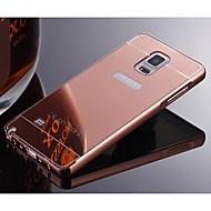 Voor Samsung Galaxy Note Beplating hoesje Achterkantje hoesje Effen kleur Metaal Samsung Note 5 / Note 4 / Note 3 / Note 2