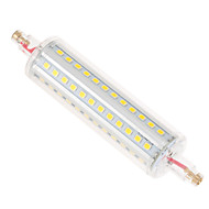 Ywxlight® dimmable r7s 12w 118mm 72smd 2835 1050lm ζεστό λευκό / δροσερό λευκό οδήγησε ac 110-240v