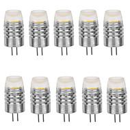 2W G4 LED kukorica izzók T 1 COB 160-190 lm Meleg fehér / Hideg fehér Dekoratív DC 12 V 10 db.