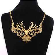 Dames Verklaring Kettingen Parelketting Parel Legering Modieus verklaring Jewelry Goud Zilver Sieraden Speciale gelegenheden  Verjaardag