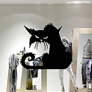 Dyr Tegneserie Højtid Veggklistremerker Fly vægklistermærker Dekorative Mur Klistermærker Materiale Kan fjernes Kan OmposisjoneresHjem