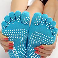 Tå Sokker Anti-skrid Svedreducerende for Yoga