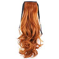 comprimento vermelho 50 centímetros venda direta da fábrica ligamento tipo de cabelo rabo de cavalo rabo de cavalo onda (cor 119)