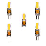Ywxlight® 5pcs g4 gz4 mr11 mr16 gu5.3 4w led 460lm ζεστό λευκό / δροσερό λευκό / φυσικό λευκό dc / ac12-24v