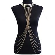 Dames Lichaamssieraden Buikketting Harness Ketting Body Chain / Belly Chain oversteekplaats Europees Bikini Opvallende sieraden Kostuum