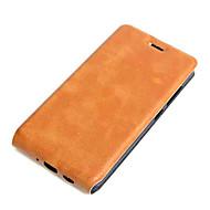 Για Θήκη Asus Θήκη καρτών / Ανοιγόμενη tok Πλήρης κάλυψη tok Μονόχρωμη Σκληρή Συνθετικό δέρμα AsusAsus ZenFone Max ZC550KL / Asus Zenfone