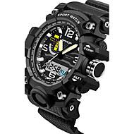 SANDA Męskie Dla par Sportowy Wojskowy Inteligentny zegarek Modny Zegarek na nadgarstek Cyfrowe Kwarc japońskiLED Chronograf Wodoszczelny