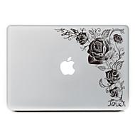 1 szt. Odporne na zadrapania Kwiaty Przezroczysty plastik Naklejka na obudowę Wzorki NaMacBook Pro 15'' with Retina MacBook Pro 15''