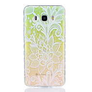 For Transparent Mønster Etui Bagcover Etui Farvegradient Blødt TPU for Samsung J7 (2016) J5 (2016) J5 J3 J3 Pro J1 (2016) Grand Prime
