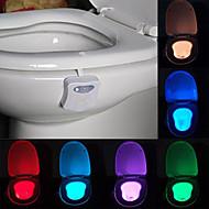 youoklight motion geactiveerde wc-nachtlampje leidde wc lichte badkamer wasruimte