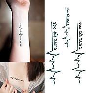 1 Tetkó matricák Állatos sorozatokBaba / Gyerek / Női / Férfi flash-Tattoo ideiglenes tetoválás