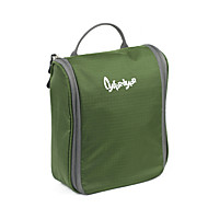 Matkalaukku Toilettilaukku varten Säilytys matkalla Matkalaukkutarvikkeet Polyester-Purppura Punainen Sininen Vaalean vihreä Tumman vihreä