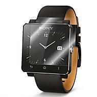 2 verpakkingen premium glazen film 0.2mm echte gehard glas screen protector voor slimme horloge sony sw2