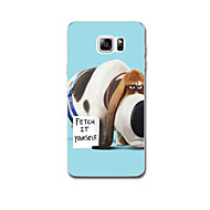 Voor Ultradun Patroon hoesje Achterkantje hoesje Hond Zacht TPU voor Samsung Note 5 Note 4